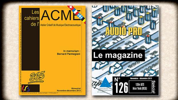 Les Cahiers de l'ACME & Audio Pro Magazine