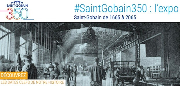 saint gobain 350 ans fevrier 2015
