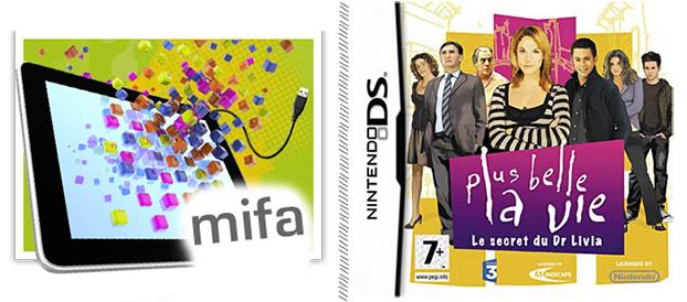 Bilan MIFA & Nintendo DS Plus Belle la Vie